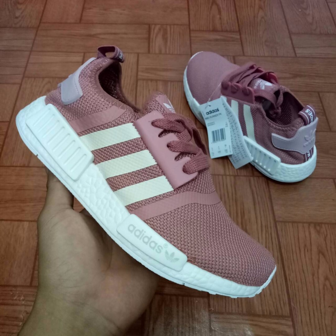 buy popular 747e5 ef7c2 low price adidas nmd runner w salmon raw pink frames ae1fc 5632f