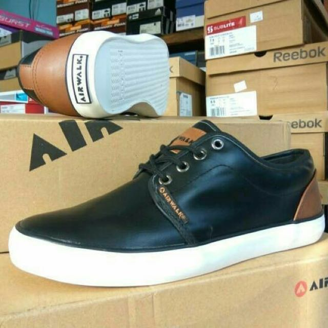 Sepatu Airwalk Original Hardy Blacj