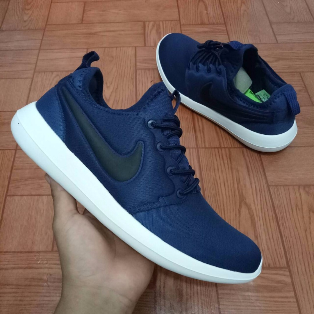 new product 2467b 4114c ... promo code for sepatu nike roshe two navy premium high quality full tag  barcode made in