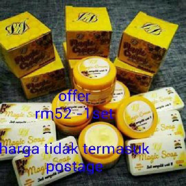 set jerawat dan jeragat lj magic cream, health \u0026 beauty, perfumesLj Magic Cream Madu Lebah Pembunuh #5