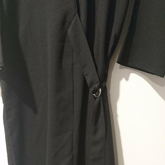Shopatvelvet Fox Black Dress