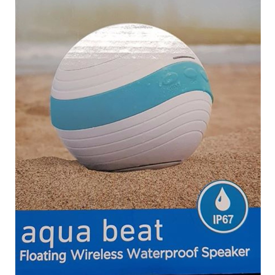 Sound Logic Aqua Beat Floating Waterproof Bluetooth Speaker
