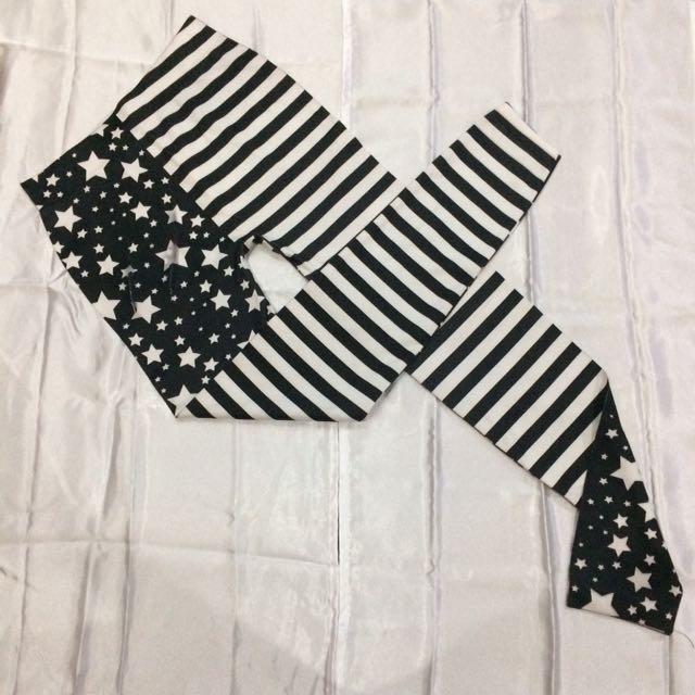 Stars & Stripes Pattern Leggings