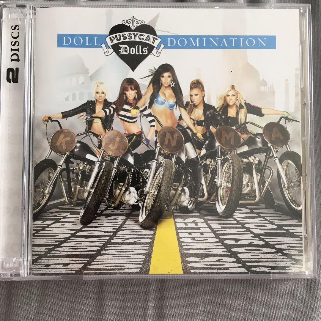 The Pussycat Dolls Doll Domination Deluxe 2-set CD