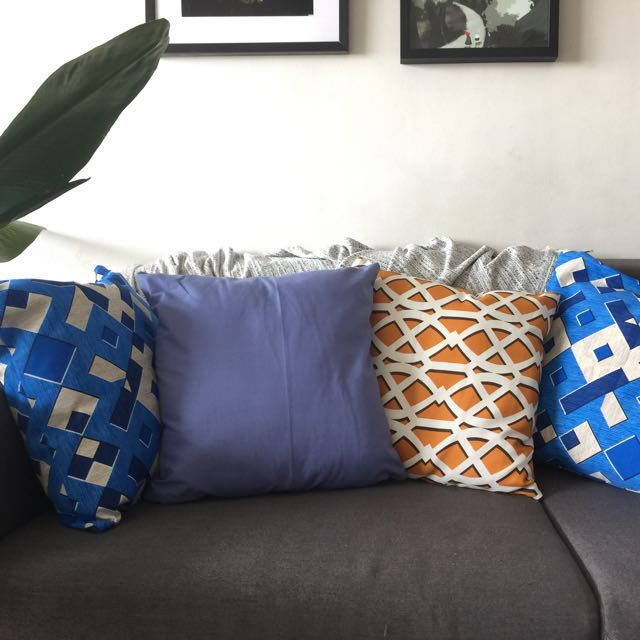 Throw Pillow And Cushion Cover Or Case Set Of 4