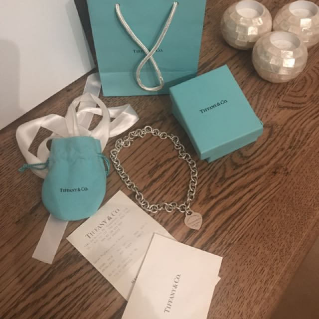 Tiffany & co. Necklace with receipt