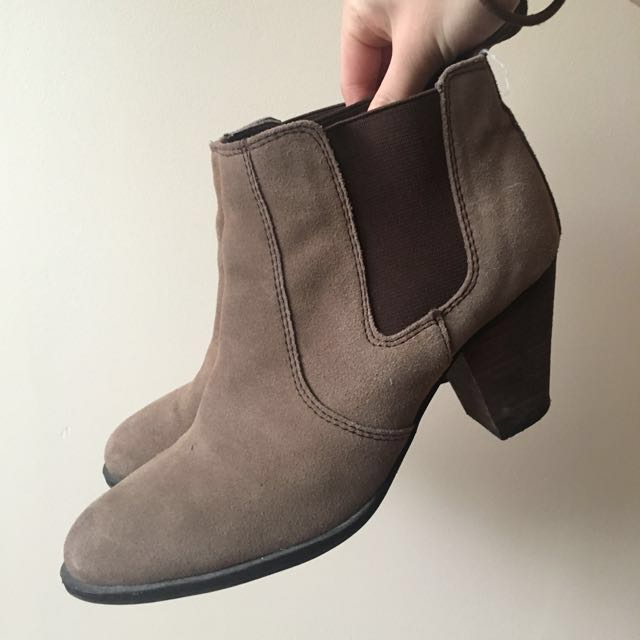 Tony Bianco Suede Boots