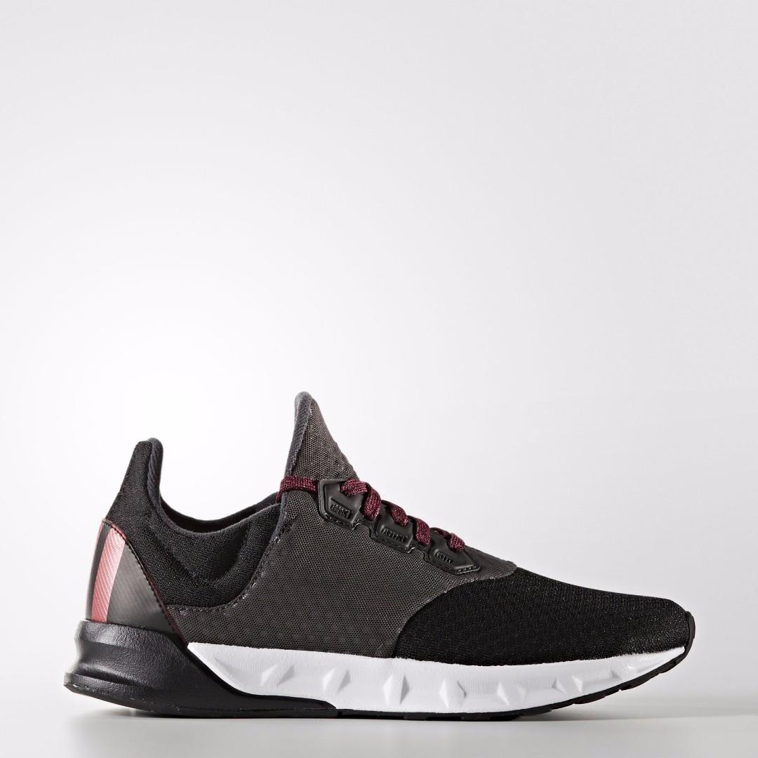 【吉米.tw】Adidas Falcon Elite 5 慢跑鞋 運動鞋 透氣 健身 跑鞋 黑粉女款 避震 BA8170