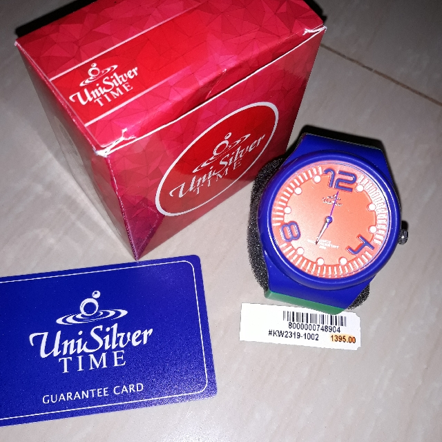 Uni Silver Watch