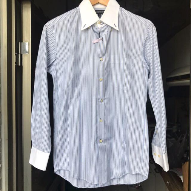 Uniqlo 正裝線條襯衫
