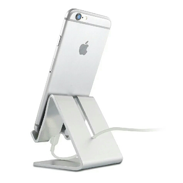 new concept d9d48 6d29c Universal Aluminum Metal Mobile Phone Tablet Desk Holder Stand for iPhone 7  / 7 Plus 6s 6 5s 5 Sumsung Phone Mobile Phone Ebook