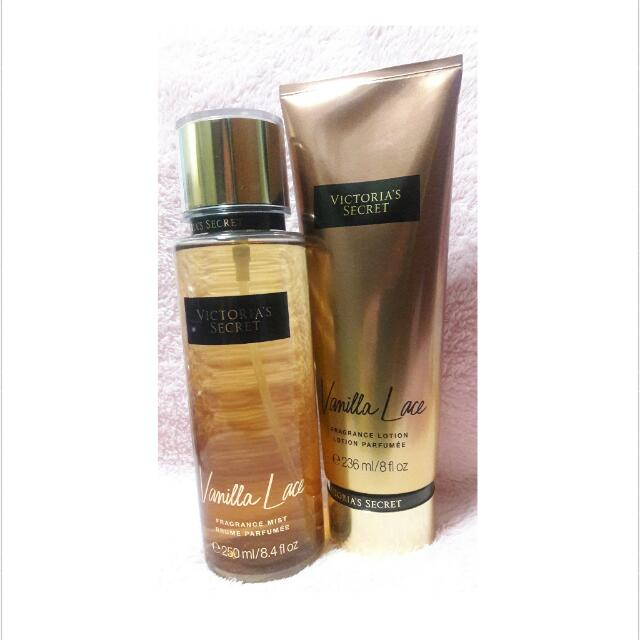 fc157eff22a Victoria s Secret Vanilla Lace Fragrance Mist And Lotion