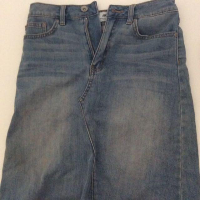 Vintage JAG Denim Skirt