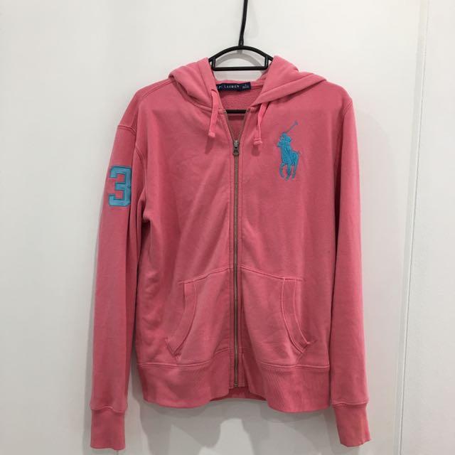Women's Ralph Lauren zip hood jacket