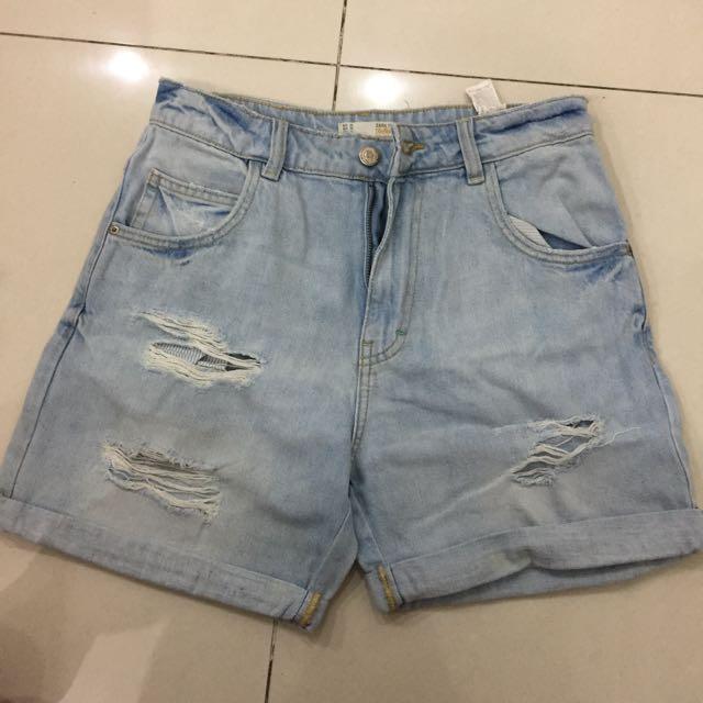 ZARA boyfriend shorts