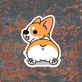 Corgi Sticker
