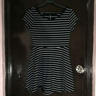 Cotton On Striped Skater Dress