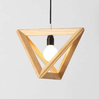 Triangle Shaped Pendant Light