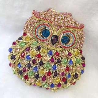 Swarovski Evening Bag - Owl