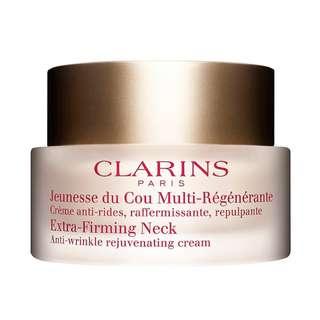 BN clarins extra firming neck cream