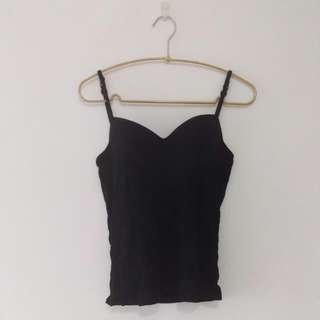 燈罩 肩帶可調式 bra 背心