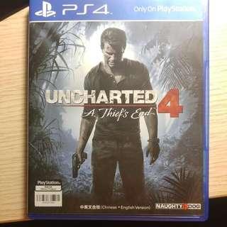 PS4 Unchartered 4