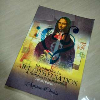 Intro to Arts Appreciation - HUMANITIES BOOK