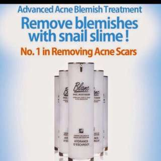 ❤Blanc Acne Scar Cream ❤SEE RESULTS* IN 4 WEEKS❤NON-DRYING❤FADE ACNE SCARS❤REMOVE INFECTION AND BACTERIAL❤Snail Mucus Cream/ No 1 In Removing Acne Scar Cream