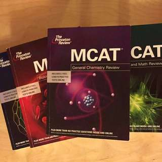 The Princeton Review MCAT Books