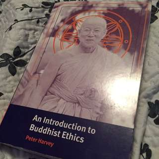 Introduction to Buddhist ethics