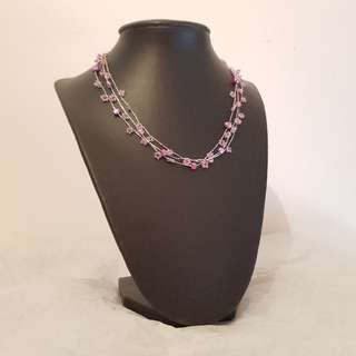 Brand New Purple Bead Necklace