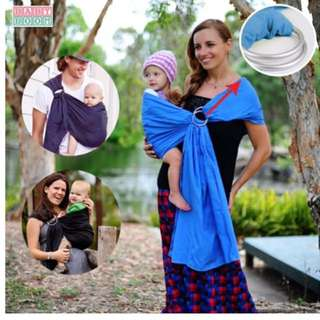Pre loved Adjustable and Breathable aring Sling Baby Carrier