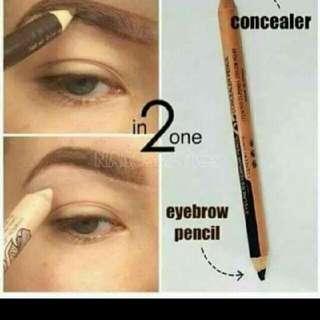Menow 2 In 1 Eyebrow