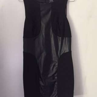 Bardot Black Dress Size 12