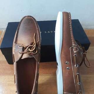 Auth Ralph Lauren boat shoes