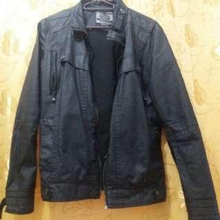 BNY Leather Jacket (Medium)
