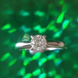 超特價 限量發售!18K 半卡 0.511ct  企理SI  鑽石戒指