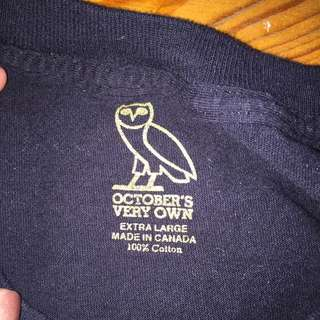 Authentic ovo long sleeve!!