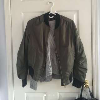 Topshop bomber