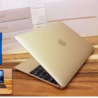 "Bnew Apple Macbook 12"" Retina Gold 256 SSD"