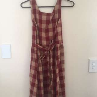 Red Gingham Dress S12
