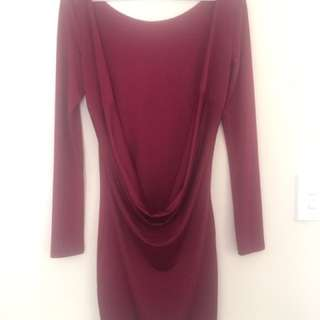 Low Back Silky Dress S6-8
