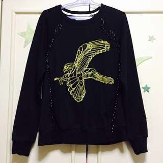 Black Beaded Sweater / Jacket