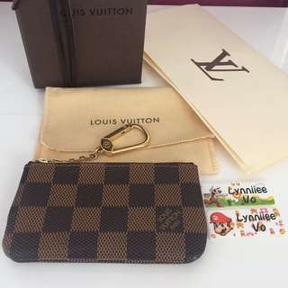 Authentic LV key cles