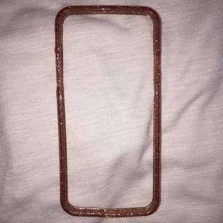 H&M PINK GLITTERY IPHONE 6 BUMPER CASE