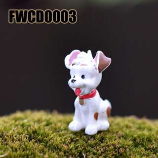 FWCD0003 Cute White Dog Standing Item Code