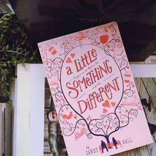 💜A Little Something Different by Sally Hall