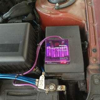 Pivot Mega Raizin Voltage Stabilizer with pivot grounding cables