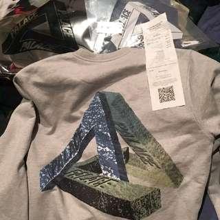 Palace Stone Crew Marl Sweat Shirt