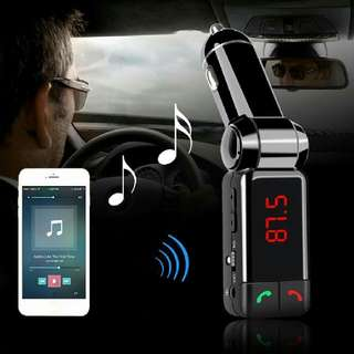 Bluetooth Car Kit BC06 Bluetooth Car Charger Hands Free Speaker FM Transmitter MP3 Player With LED Display